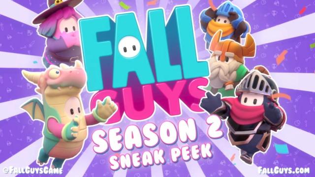 Fall Guys (フォールガイズ)に飽きた?シーズン2を待て!動画あり