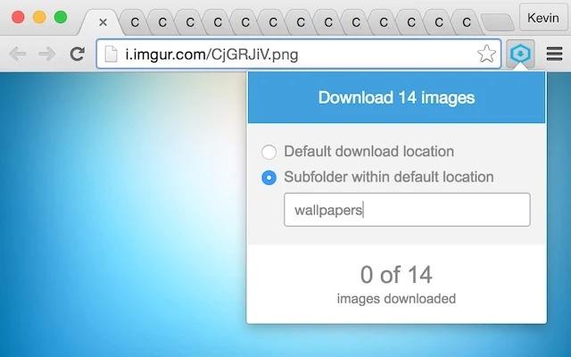 開いているタブの画像を一括保存 Chrome拡張「Save Tabbed Images」
