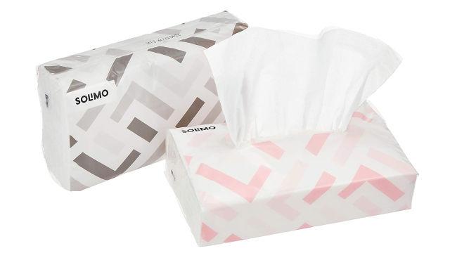 外で鼻水がよく出る人はソフトパックのティッシュを1つバッグに入れておくのがおすすめ