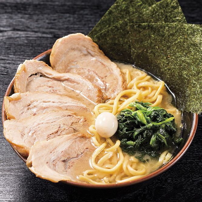 [食レポ] 家系ラーメン(横浜ラーメン)を初めて食べてみた感想: 壱角家
